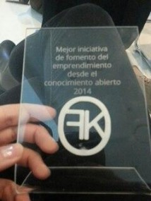 Awarded by the Spanish Chapter of the Open Knowledge Foundation