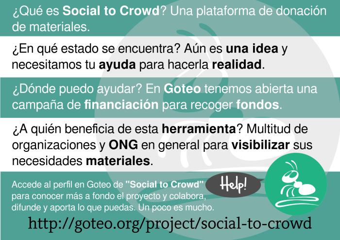 ¿Qué es Social To Crowd?